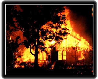Poetry Day – The Burning of our House