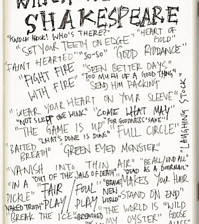 Shakespeare's contribution to English