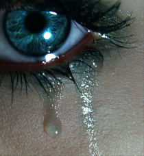 The science of crying and of making eye contact