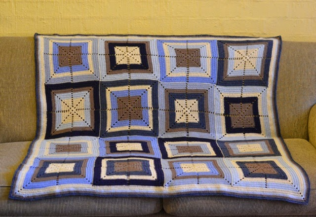 Davey's rug and other crochet projects